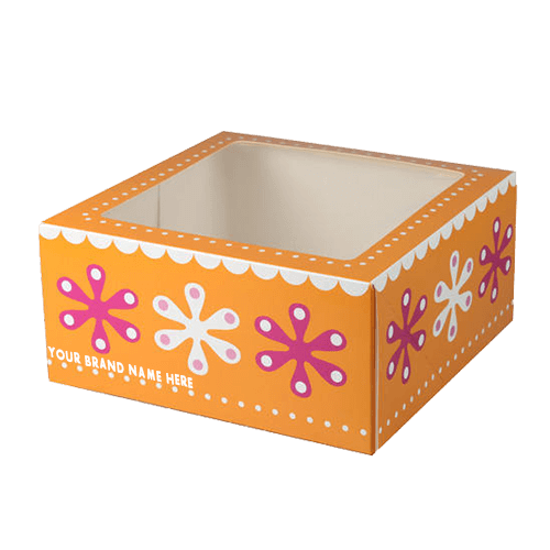 Bakery boxes manufacturers make these food packaging with food grade technology and laminations of your choice.