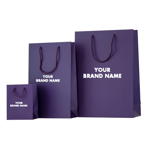 With the logo on these custom bags, this is a perfect way to advertise your brand or your company name.
