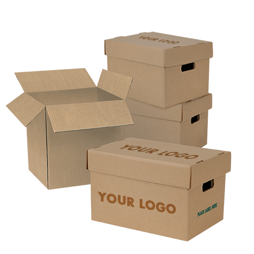 Get your Cardboard boxes printed in different colors or in different designs as per your requirement from us.