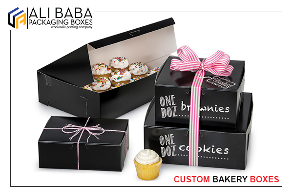 Design your own cheap bakery boxes at the Alibaba packaging boxes
