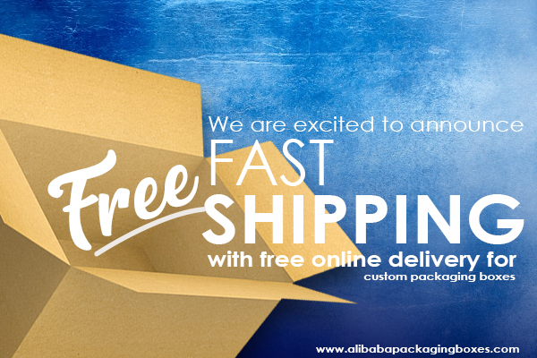 Expedited Shipping with Free online delivery for custom printing and packaging boxes, now available at Alibaba.
