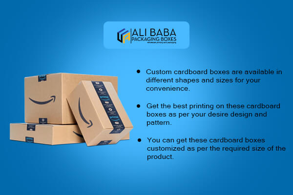 Types of custom cardboard boxes and where to buy them near me?