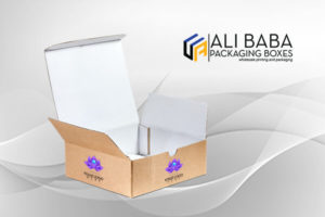 Different sizes and shapes of corrugated boxes are available.